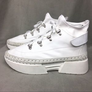 Free People Amsterdam Sneakers SIZE 40 White